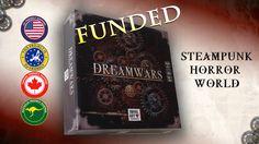 Dreamwars Steampunk Horror Board Game project video thumbnail