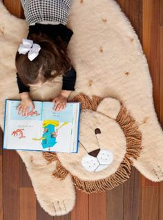 Tapete de Leão Infantil Passo a Passo | Espaço Infantil