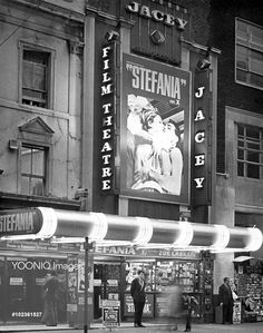Yooniq images - JACEY CINEMA, CHARING CROSS ROAD, LONDON probably late 1960's  STEFANIA [GREECE 1966]