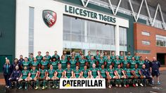 """""""TIGERS"""" Leicester Tigers, Caterpillar, Basketball Court, Butterfly"""