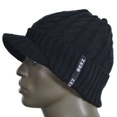 Best price on Zero Seven Mens Knit Cable Newsboy Cap Cadet Cabbie Skull Hat  U07B5042   cc5a400f85