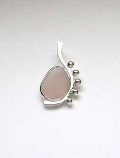Sea Glass Jewelry  Sterling Rare Pink Sea Glass by SignetureLine, $85.00
