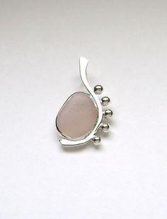 Sea Glass Jewelry  Sterling Rare Pink Sea Glass by SignetureLine, $85.00