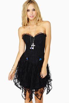 Hello Darkness Corset Dress