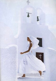 white Greece.