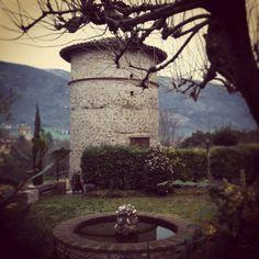 The secret garden. Acquasparta, Umbria