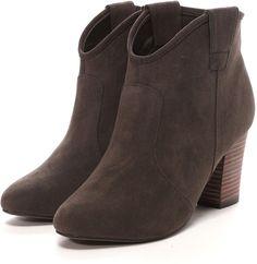 Boisson Chocolat ボワソンショコラ スエード Suede Boots on ShopStyle