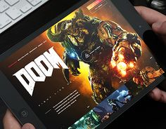 "Check out new work on my @Behance portfolio: ""DOOM"" http://be.net/gallery/47240341/DOOM"