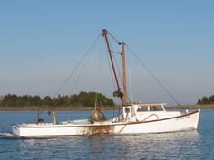 An Oyster Boat in Tangier Sound, Chesapeake Bay