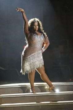 Must-See: Watch Amber Riley's First Dance on 'Dancing with the Stars'  Get it girl!!!