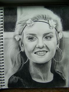 My drawing of Perrie Edwards from Little Mix
