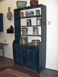 Pennslyvania Crock Cupboard