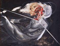 Sample IK. , Oil on canvas, 120cm x 100cm, 2009