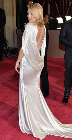 Kate Hudson in Atelier Versace, 2015 Satin Dresses, Nice Dresses, Formal Dresses, Wedding Dresses, Ellie Saab, Tom Ford, Oscar Gowns, Marc Jacobs, Versace Dress