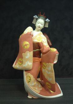 博多人形 美人物|伝統工芸品の博多人形のごとう
