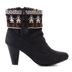 Damen High Heel Stiefelette Schwarz (DY103) - http://on-line-kaufen.de/young-fashion/damen-high-heel-stiefelette-schwarz-dy103