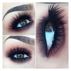5 Tips to Fake Long, Thick Eyelashes (Without Falsies) ❤ liked on Polyvore featuring beauty products, makeup and eye makeup