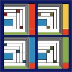 Frank Lloyd Wright Designs | Frank Lloyd Wright® Price Rug Design Sandstone Coaster Gift Set