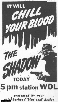 shadow radio show ad - Google Search
