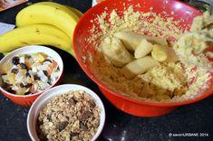 Biscuiti cu banane si cereale | Savori Urbane Biscuit, Oatmeal, Breakfast, Food, Banana, The Oatmeal, Morning Coffee, Rolled Oats, Essen