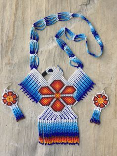 A personal favorite from my Etsy shop https://www.etsy.com/listing/471592187/huichol-beaded-eagle-necklace-with