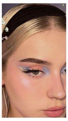Cute Makeup Looks, Makeup Eye Looks, Eye Makeup Art, Pretty Makeup, Skin Makeup, Mac Makeup, Clown Makeup, Makeup Brushes, Simple Eye Makeup