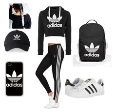 """""""Untitled #8"""" by knmattern on Polyvore featuring adidas Originals and adidas"""