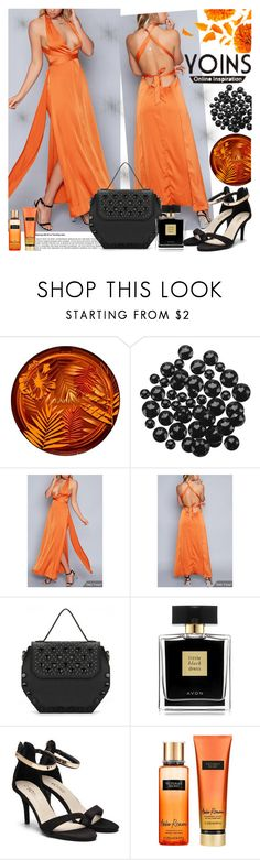 """""""YOINS"""" by gaby-mil ❤ liked on Polyvore featuring Clarins, Avon, Victoria's Secret, yoins, yoinscollection and loveyoins"""