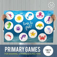 Primary Songs, Primary Singing Time, Primary Activities, Lds Primary, Primary Lessons, Movement Activities, Church Activities, Time Activities, Singing Classes
