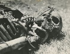 shrapnel to face.. WW2 Eastern Front