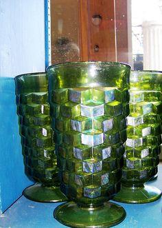 Fostoria Water Glass; very similar to mine