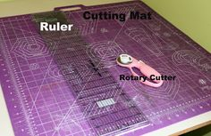 Pickup Some Creativity: Sewing 101 with Lynette, Using a Rotary Cutter