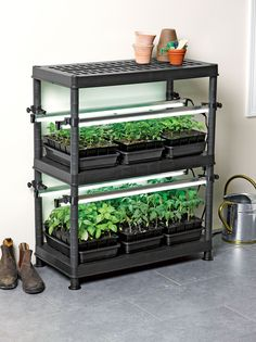 Would love to try this. Stack-n-Grow Light System - Exclusively from Gardener's Supply
