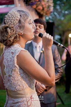Tulle - Acessórios para noivas e festa. Arranjos, Casquetes, Tiara | ♥ Nathália Martins França