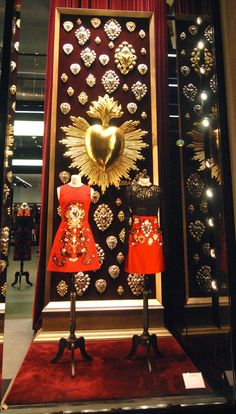 "DOLCE&GABBANA, Paris, France, ""Macy....remember,people will judge you by your actions,not your intentions,you may have a hearth of gold........but so does a hard-boiled egg"", pinned by Ton van der Veer"