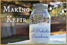 Stop buying yogurt, start making this at home. It's easy and far less expensive. #drink #fermentedfood #probiotic #kefir #dairykefir #diy #homemade