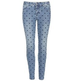 mytheresa.com - Embroidered jeans - Luxury Fashion for Women / Designer clothing, shoes, bags
