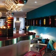 Die Hotelbar des Edinburgh Hotel Missoni