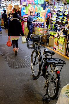 Ameyoko street Bicycle, Street, Bike, Bicycle Kick, Bicycles, Walkway