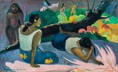 Donne thaitiane sdraiate - Paul Gauguin