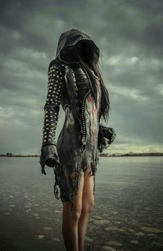 """It's like pirates of the Caribbean steampunk edition. toxicvisionclothing: """" Falling off the edge of the world… New Toxic Vision. Collection release is Sunday, October at Mode Apocalypse, Apocalypse Fashion, Looks Style, Looks Cool, My Style, Dark Fashion, Gothic Fashion, Latex Fashion, Steampunk Fashion"""