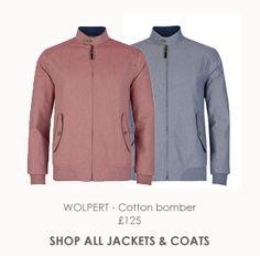 Mens Designer Jackets & Coats | Ted Baker