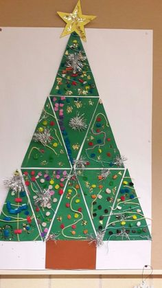 To do in the Christmas Crafts Pin group?-Do zrobienia w grupie Christmas Crafts Pin ? To do in the Christmas Crafts Pin group? Homemade Christmas Crafts, Christmas Tree Crafts, Noel Christmas, Christmas Projects, Christmas Themes, Holiday Crafts, Christmas Decorations For Classroom, Christmas Crafts For Kids To Make At School, Christmas Tree Art