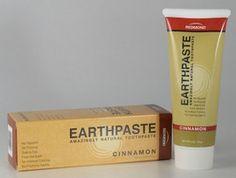 Natural Organic Flouride Free Toothpaste Cinnamon