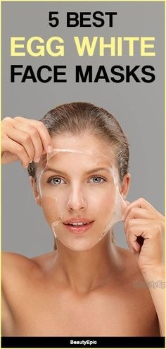 Egg White Face Mask: Vorteile und 5 Best Face Mask Rezepte Egg White Face Mask: Benefits and 5 Best Face Mask Recipes Egg Face Mask, White Face Mask, Egg White Mask, Skin Tips, Skin Care Tips, Too Faced, Facial Care, Best Face Products, Beauty Products