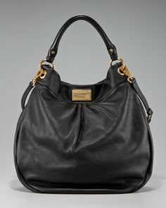 Classic Q Hillier Hobo, Black by MARC by Marc Jacobs at Bergdorf Goodman... I bought this bag 3 years ago & it's still one of my favorite bags I own.