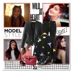"""""""Ariana"""" by aminkicakloko ❤ liked on Polyvore featuring women's clothing, women's fashion, women, female, woman, misses and juniors"""