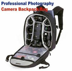 WB 1668 Camera Bag Backpack with All Weather Cover for SLR CAMERAS, LENSES, Accessories,etc-in Camera/Video Bags from Consumer Electronics on Aliexpress.com