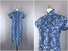 Jahrgang 1940er Jahre Kleid / 40er Jahren von ThisBlueBird auf Etsy