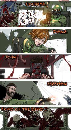 Sherman fast zombi jhon crisman diane cocheta!!!!!!!!!!!